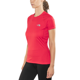 The North Face Flex S/S Shirt Women Juicy Red
